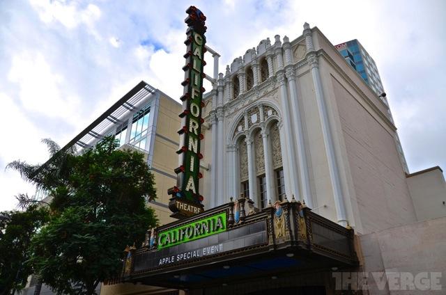 Вход в Калифорнийский театр