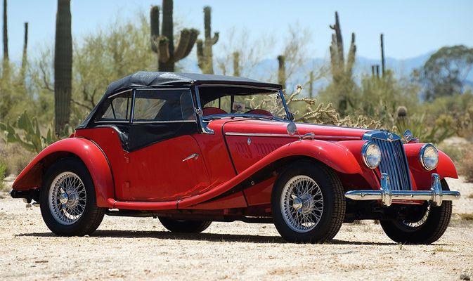 MG TD 1952 года Романа Полански