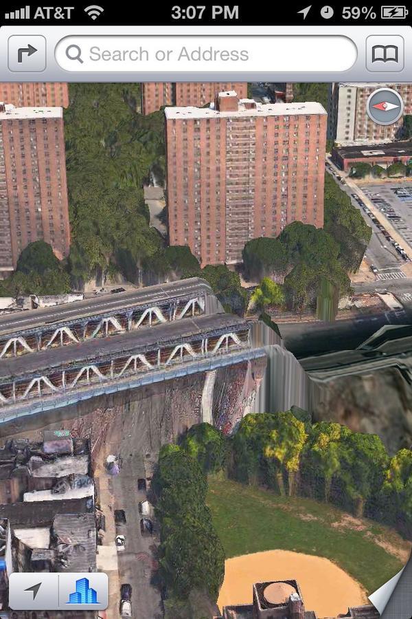 Мост заканчивается провалом