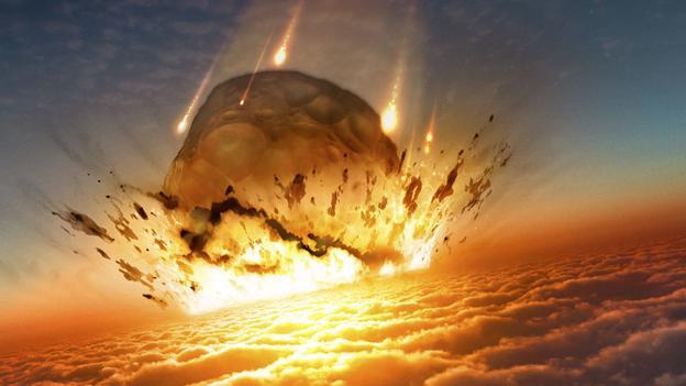 Огромная комета могла упасть на Землю