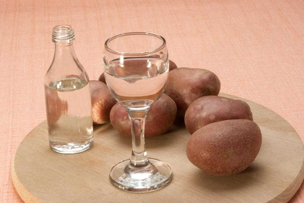 Картошка - одна из традиционных славянских закусок к водке