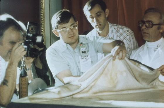 В 1988 году ученые изучали плащаницу