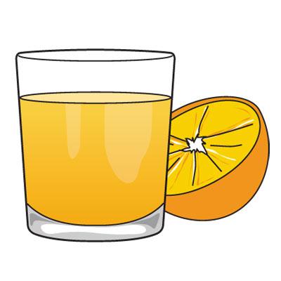Психам полезен апельсиновый сок