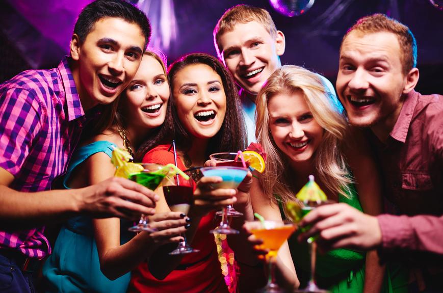 Алкоголь - спонсор хорошего настроения