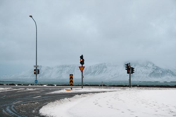 Улицы в Исландии