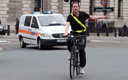 Дэвид Кэмерон, лидер Консервативной партии Британии