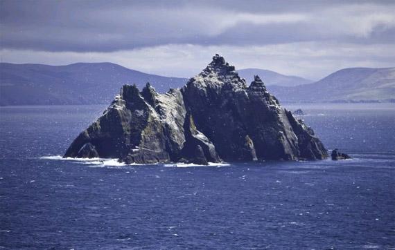 Остров Скеллиг-Майкл практически не приспособлен для жизни