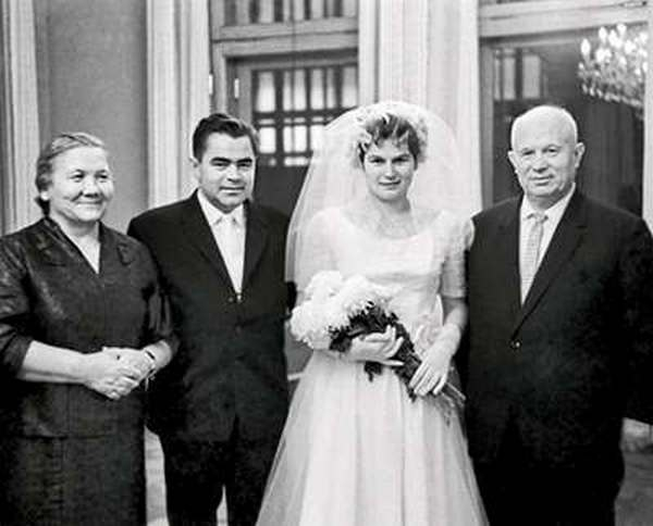 Свадьба Николаева и Терешковой