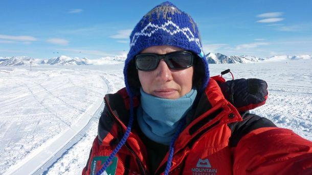 Фелисити Эстон ради одиночества уехала в Антарктику на 59 дней