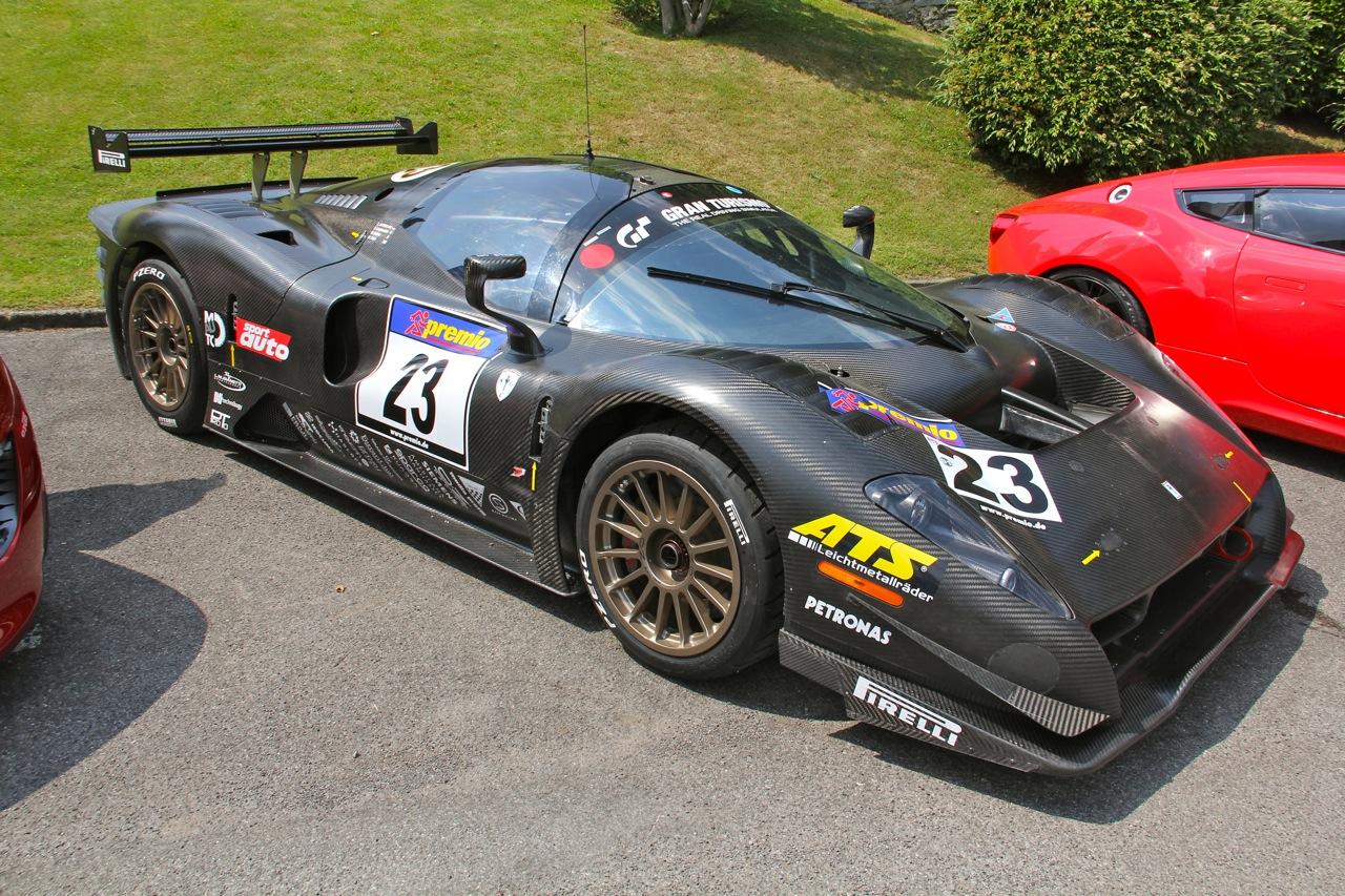 Тюнингованная Ferrari P 4/5 Competizone принадлежит Джеймсу Гликенхаусу