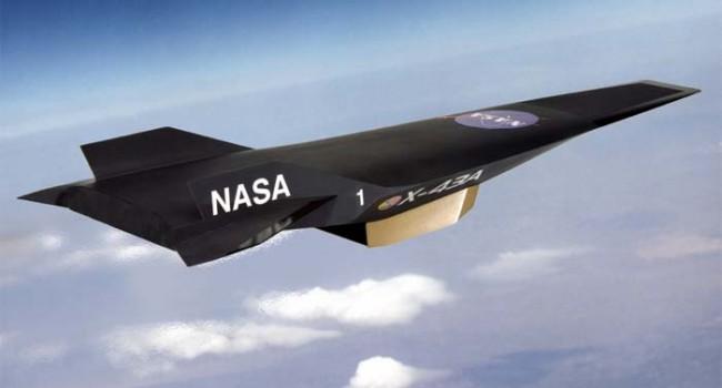 Максимальная скорость Х-43А - 11200 км/ч