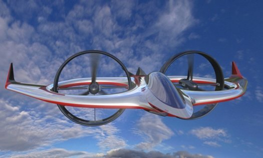 Project Zero — самолет умеет взлетать вертикально
