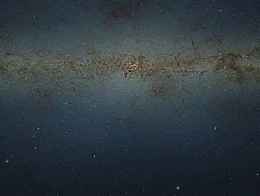 Поражающее воображение фото нашей галактики