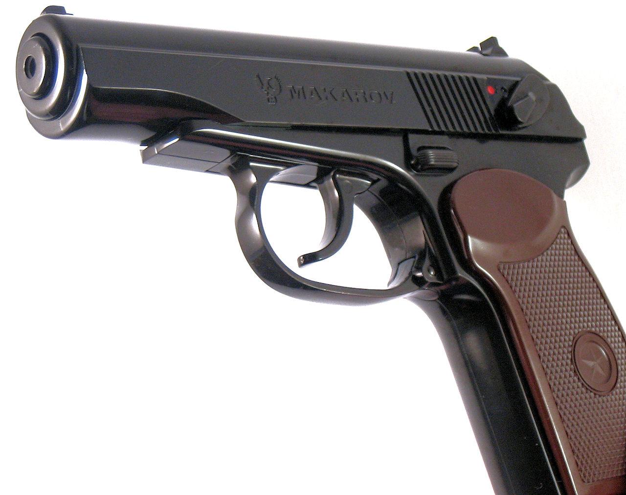 Пистолет Макарова побывал в космосе