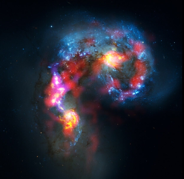 Галактика антенн