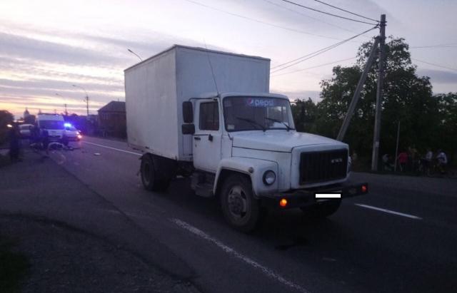 Авария произошла в районе Мукачево