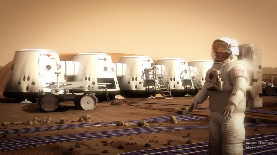 Высадку на Марс мы увидим в прямом эфире