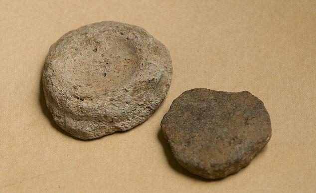 Размеры туалетных камней варьировались