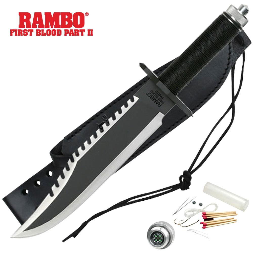 Нож Джона Рэмбо. Идеален для расчистки непроходимых джунглей