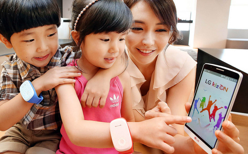 Детские умные часы KizON