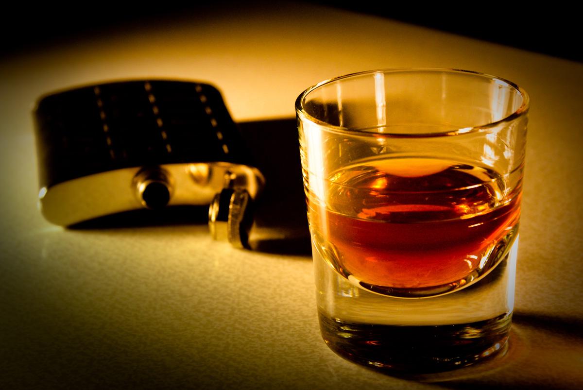 Виски - спиртное для озадаченных ребят