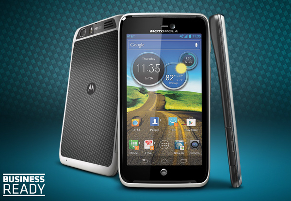 Motorola выпустит Atrix HD