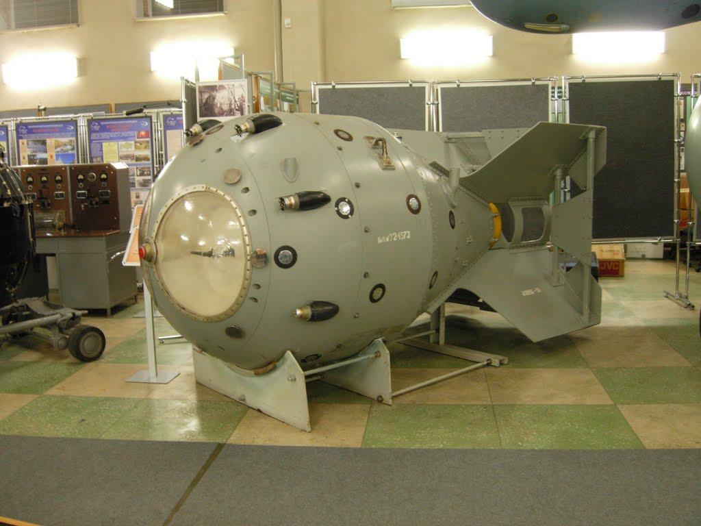 РДС-1 была внушительных размеров