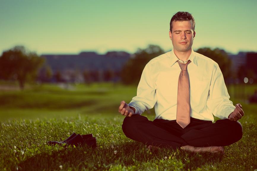 Медитации помогают концентрироваться и прогуливать работу