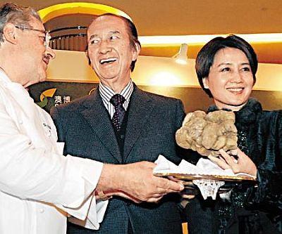 Стэнли Хо за баснословные деньги купил 2 несъедобных гриба