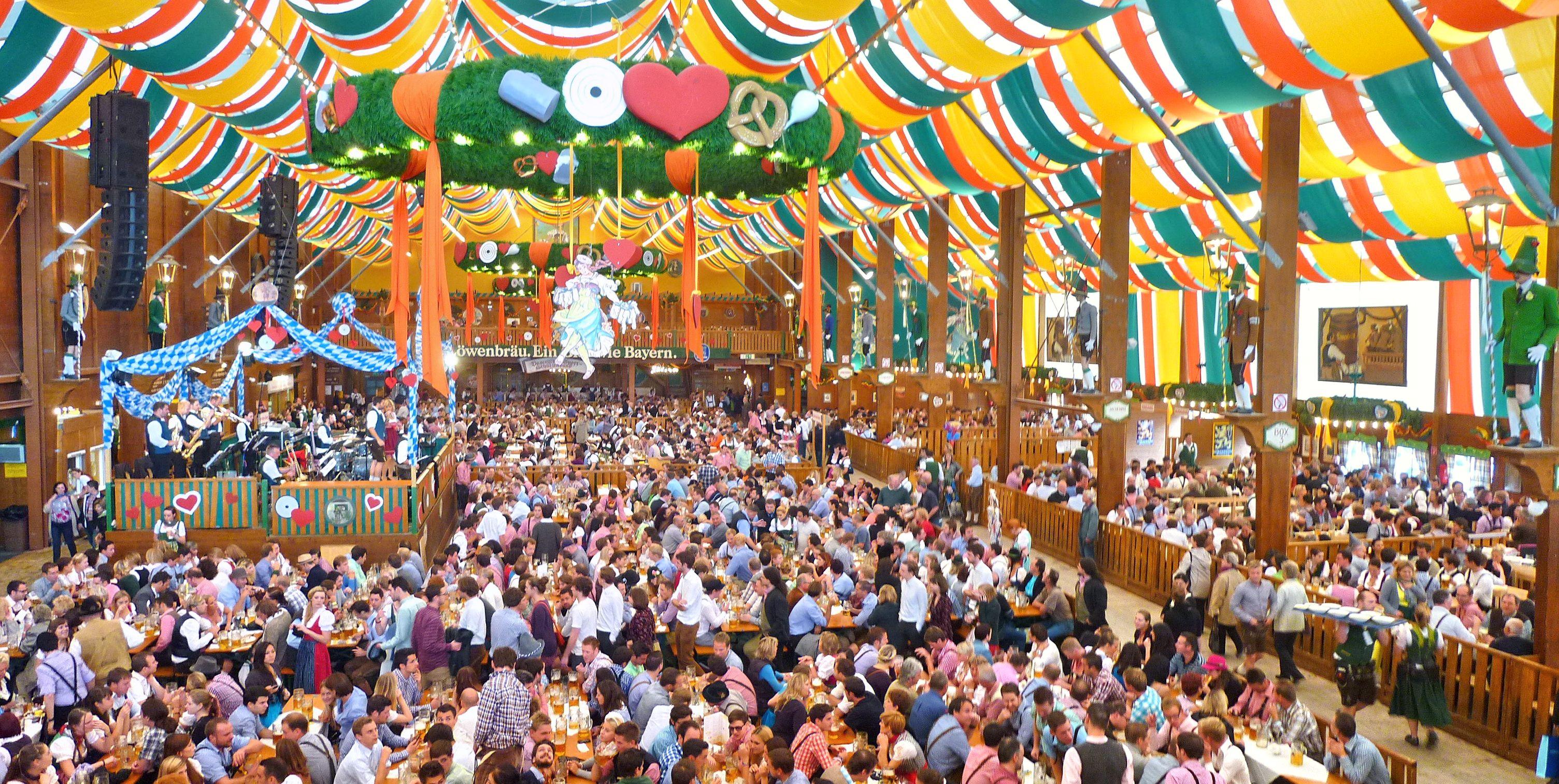 Октоберфест - международная масштабная пьянка, ежегодно проходящая на территории Германии
