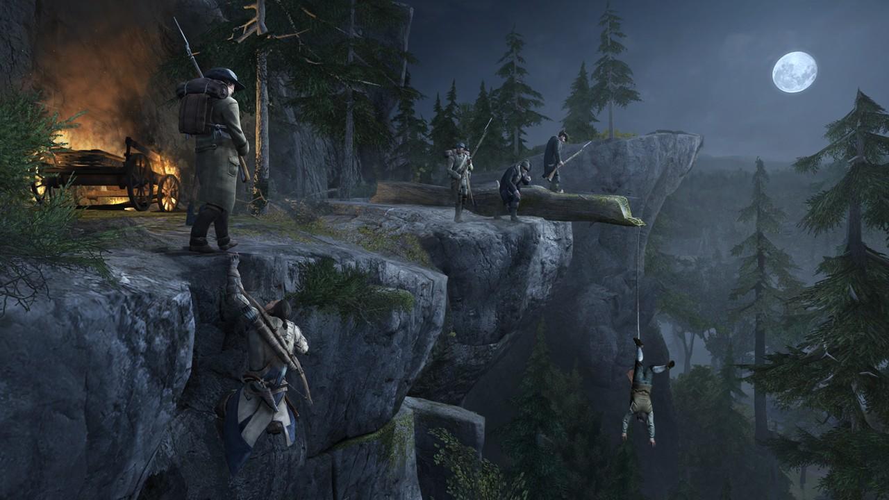 Assassin's Creed 3 поделен на домашние территории, и вражеские