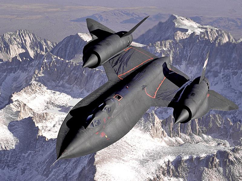 В период Холодной войны SR-71 стал главным воздушным разведчиком Штатов
