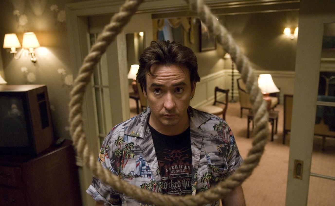Джон Кьюсак после съемок в фильме 1408 явно больше никогда не будет ночевать в отелях