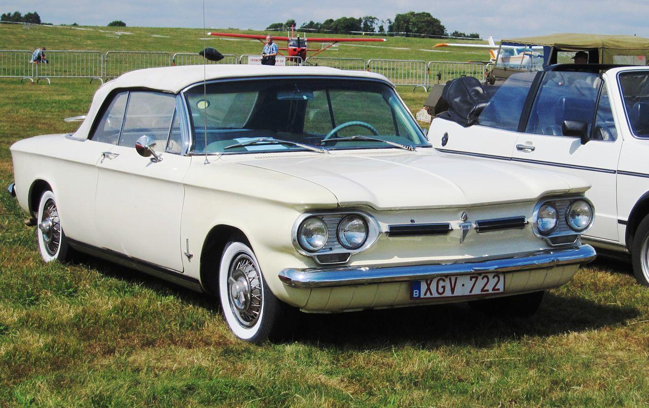 Chevrolet Corvair - на который, как ни парадоксально, скорее всего оглядывались, создавая Запорожец