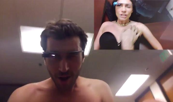 Порно, снятое на Google Glass