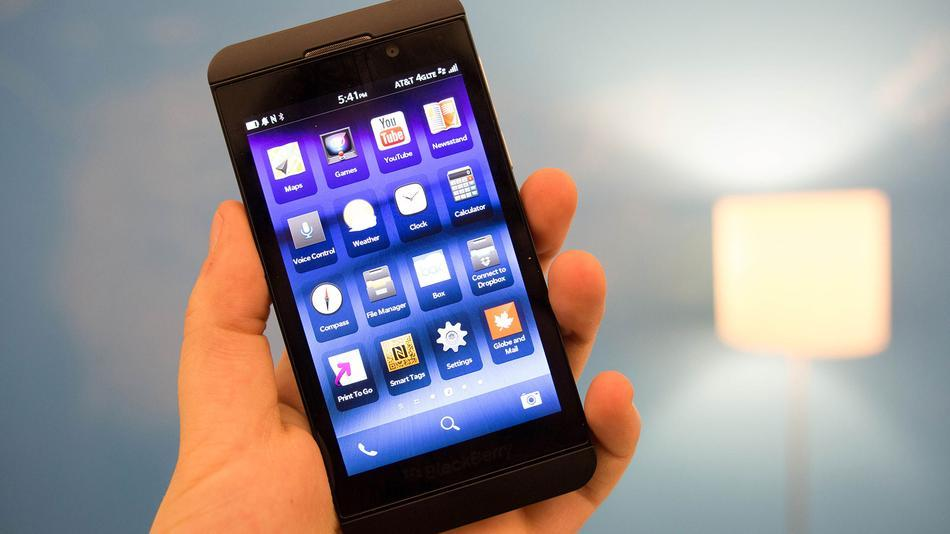Советы BlackBerry Z10