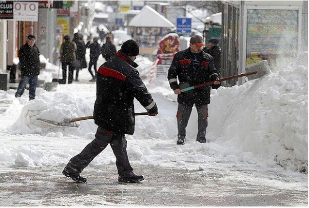 Снегопад в Киеве — это только начало