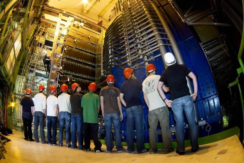 Возможно, на коллайдере нашли бозон Хиггса