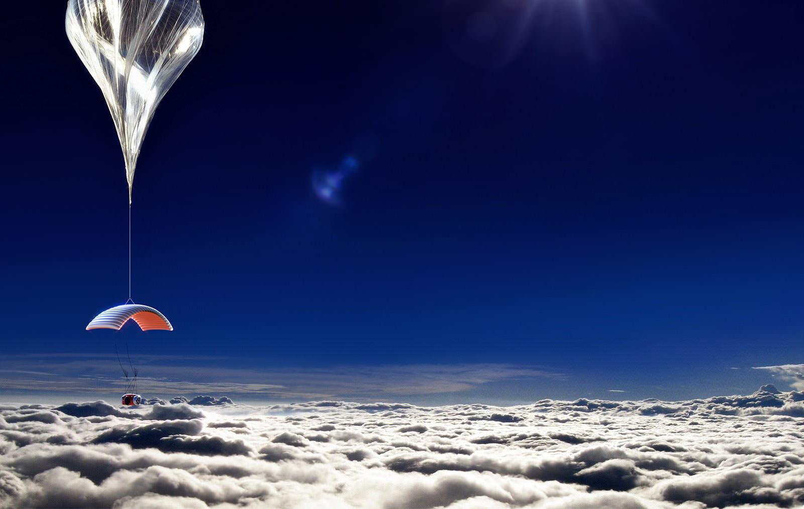 Стратостат компании Paragon Space Development