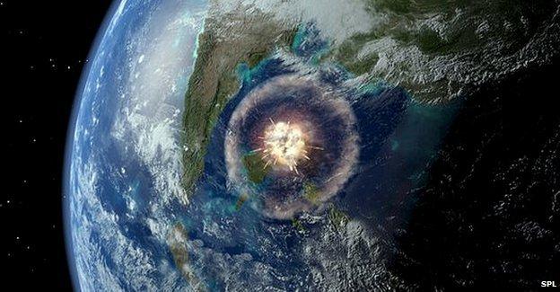 Падение астероида вызвало серию землетрясений по всей Земле