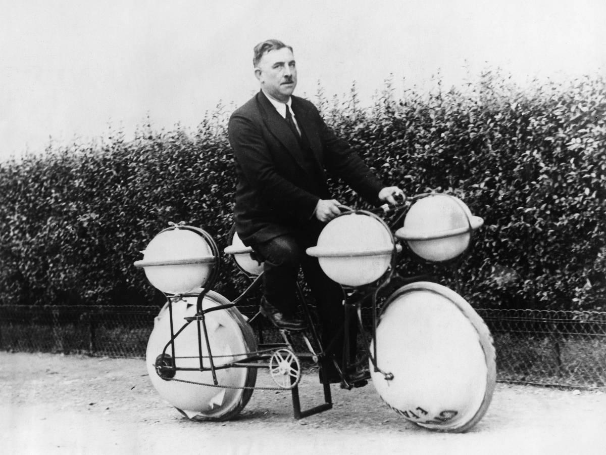 3. Гидровелосипед