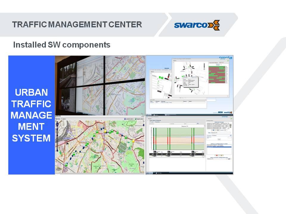 Центр управления движением действует на основе информации с камер и детекторов