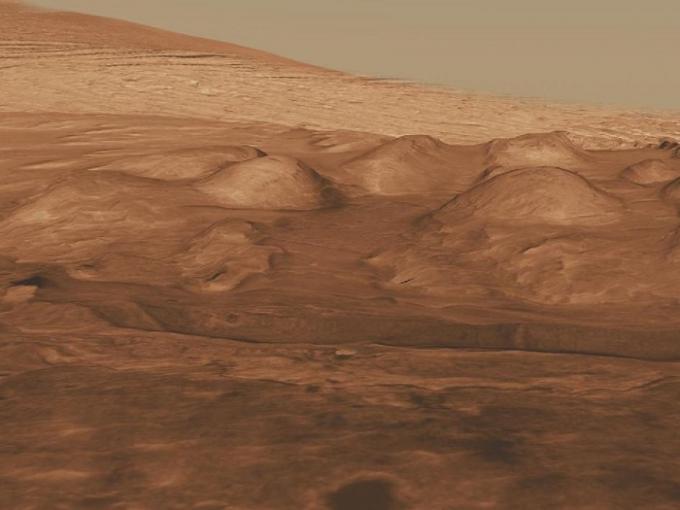 Жизнь на Марсе могла обитать в озерах