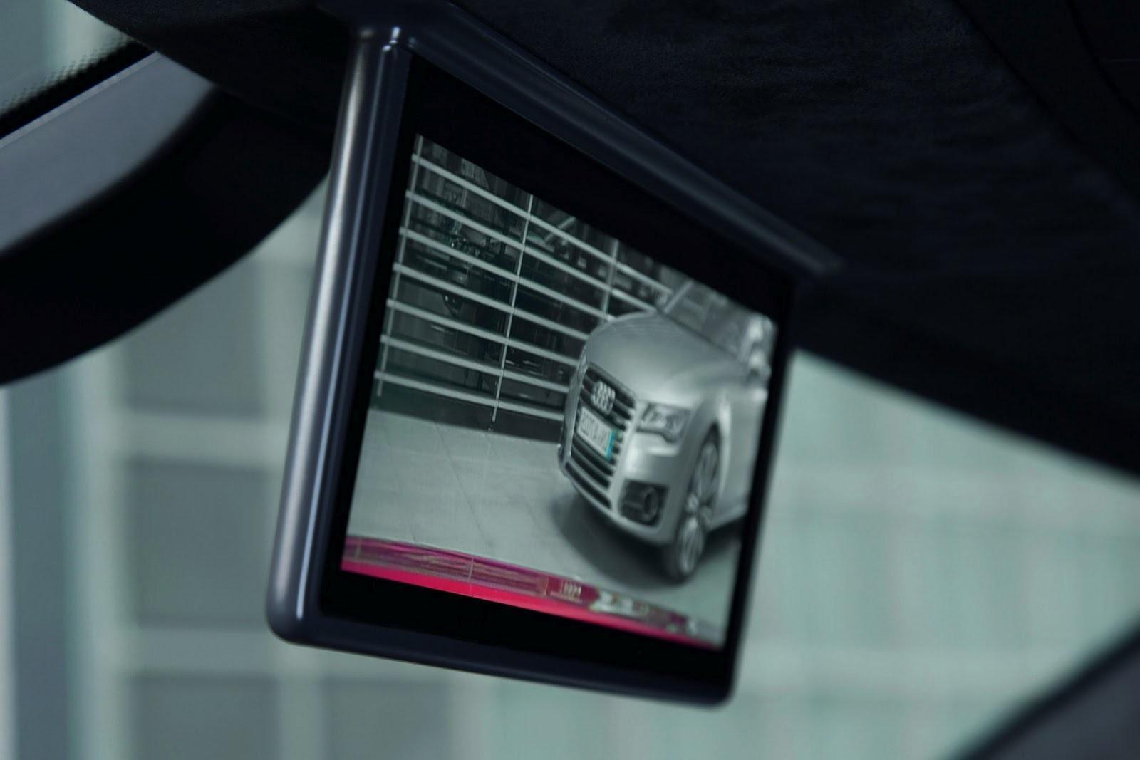 Цифровое заднее зеркало придумали в Ингольштадте