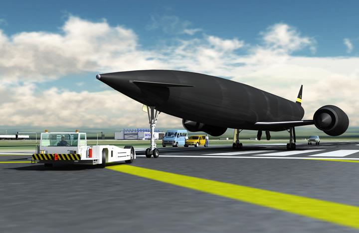 Скайлон - первое межпланетное такси