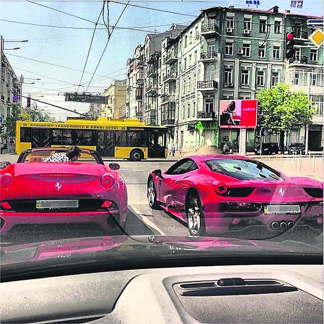 Ferrari Милевского