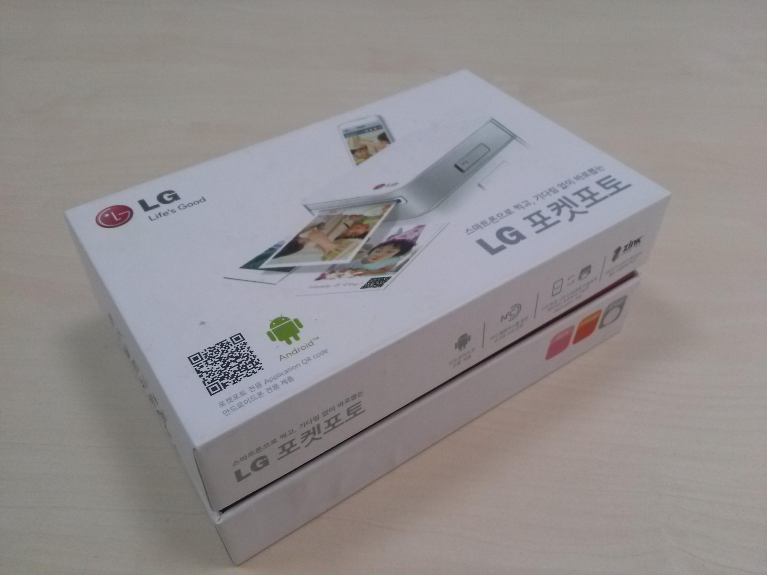 LG Pocket Photo PD223