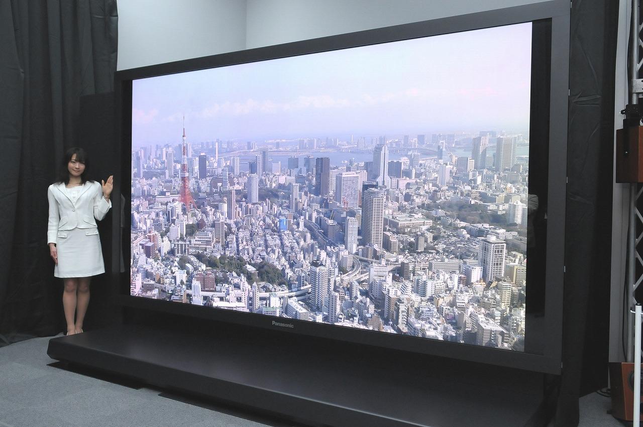 Пока есть только телевизоры формата 4K.