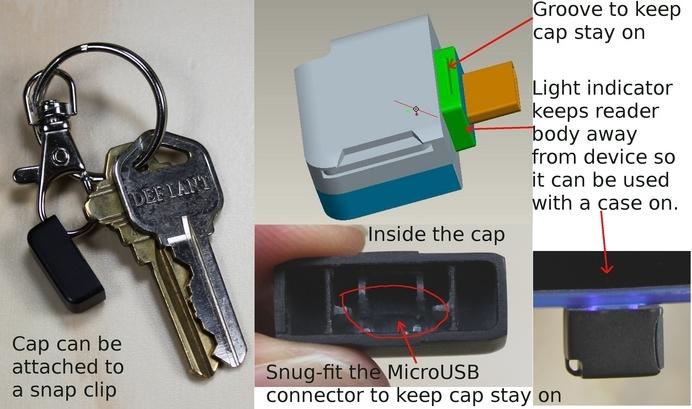 Можно использовать, как брелок для ключей