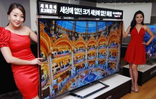 Самый четкий телевизор от LG